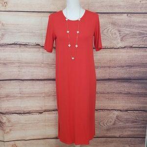 Eileen Fisher long tshirt style dress (B032)